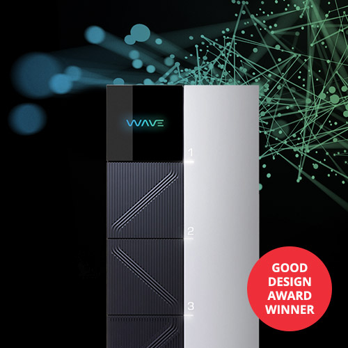 Wave wins a GOOD DESIGN award.