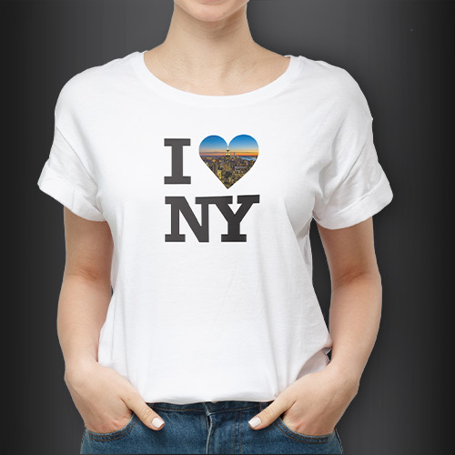 Redesigning the I LOVE NY logo.